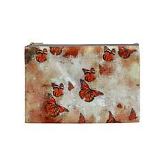 Adorable Butterflies, Terra Cosmetic Bag (medium)  by MoreColorsinLife