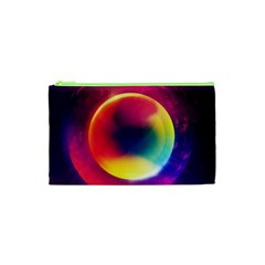 Colorful Glowing Cosmetic Bag (xs) by Sapixe