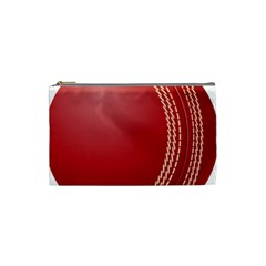 Cricket Ball Cosmetic Bag (small)  by Sapixe