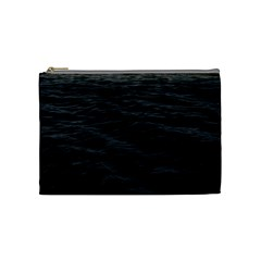 Dark Lake Ocean Pattern River Sea Cosmetic Bag (medium)  by Sapixe