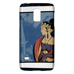 Java Indonesia Girl Headpiece Galaxy S5 Mini by Nexatart