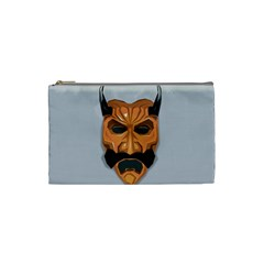 Mask India South Culture Cosmetic Bag (small)  by Nexatart