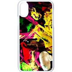 Spooky Attick 1 Apple Iphone X Seamless Case (white) by bestdesignintheworld
