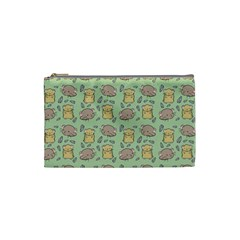 Hamster Pattern Cosmetic Bag (small)  by Sapixe