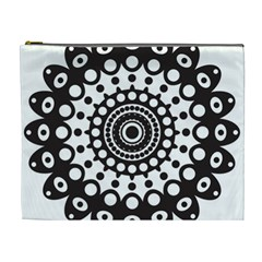 Mandala Geometric Symbol Pattern Cosmetic Bag (xl) by Sapixe