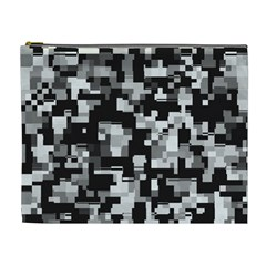 Noise Texture Graphics Generated Cosmetic Bag (xl) by Sapixe