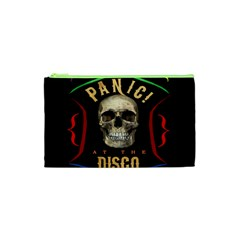 Panic At The Disco Poster Cosmetic Bag (xs) by Samandel