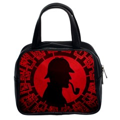 Book Cover For Sherlock Holmes And The Servants Of Hell Classic Handbags (2 Sides) by Samandel