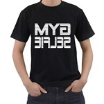 Gym Selfie Men s T-shirt (Black)