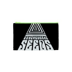 Psychedelic Seeds Logo Cosmetic Bag (xs) by Samandel