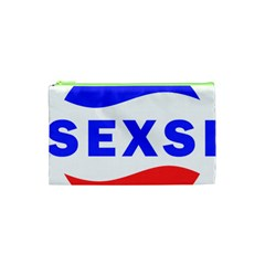 Sexsi Sexy Logo Cosmetic Bag (xs) by Samandel