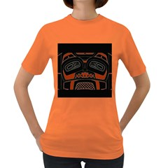 Traditional Northwest Coast Native Art Women s Dark T Shirt
