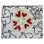 Love Love hearts Cosmetic Bag (XXXL)