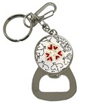 Love Love Hearts Bottle Opener Key Chains
