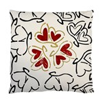 Love Love Hearts Standard Cushion Case (One Side)