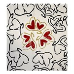 Love Love Hearts Shower Curtain 66  x 72  (Large)