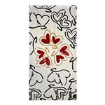 Love Love Hearts Shower Curtain 36  x 72  (Stall)