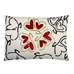 Love Love Hearts Pillow Case (Two Sides)