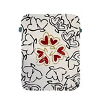 Love Love Hearts Apple iPad 2/3/4 Protective Soft Cases