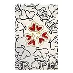 Love Love Hearts Shower Curtain 48  x 72  (Small)