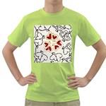 Love Love Hearts Green T-Shirt