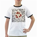 Love Love Hearts Ringer T-Shirts