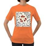 Love Love Hearts Women s Dark T-Shirt