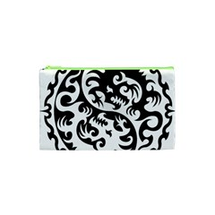 Ying Yang Tattoo Cosmetic Bag (xs) by Sapixe