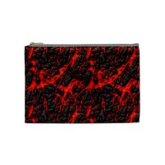 Volcanic Textures Cosmetic Bag (medium)  by Sapixe