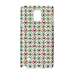 Christmas Decorations Background Samsung Galaxy Note 4 Hardshell Case by Sapixe