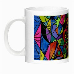 Triune Transformation   Glow In The Dark Mug