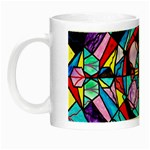 Sacred Geometry Grid - Glow in the Dark Mug