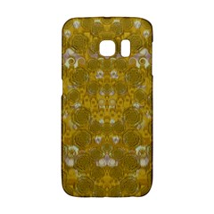 Golden Stars In Modern Renaissance Style Galaxy S6 Edge by pepitasart