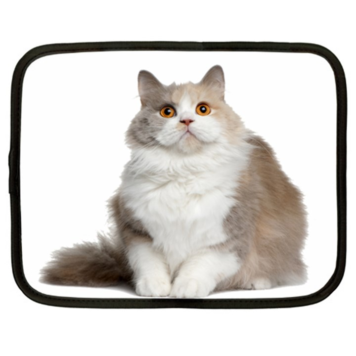 CuteFat Cat  Netbook Case (XL)