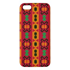 Tribal Shapes In Retro Colors                           Samsung Galaxy Note 3 Leather Folio Case by LalyLauraFLM