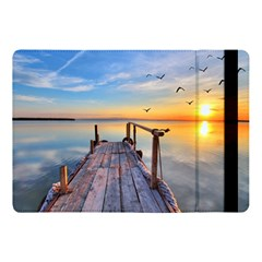 Sunset Lake Beautiful Nature Apple Ipad Pro 10 5   Flip Case by Modern2018