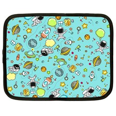 Space Pattern Netbook Case (xl)