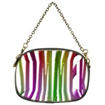Summer Colorful Rainbow Typography Chain Purses (One Side)