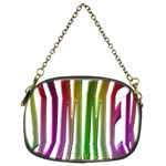 Summer Colorful Rainbow Typography Chain Purses (Two Sides)