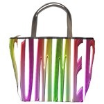 Summer Colorful Rainbow Typography Bucket Bags