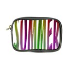 Summer Colorful Rainbow Typography Coin Purse