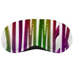 Summer Colorful Rainbow Typography Sleeping Masks