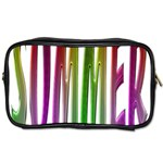 Summer Colorful Rainbow Typography Toiletries Bags