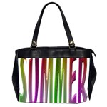 Summer Colorful Rainbow Typography Office Handbags (2 Sides)
