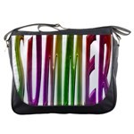 Summer Colorful Rainbow Typography Messenger Bags