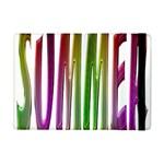 Summer Colorful Rainbow Typography Apple iPad Mini Flip Case
