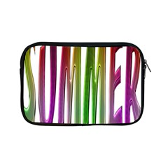 Summer Colorful Rainbow Typography Apple Ipad Mini Zipper Cases by yoursparklingshop