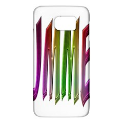 Summer Colorful Rainbow Typography Galaxy S6 by yoursparklingshop