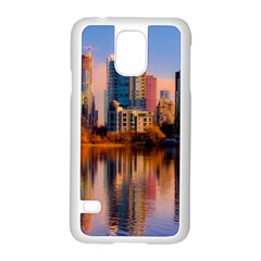 Vancouver Canada Sea Ocean Samsung Galaxy S5 Case (white) by Simbadda