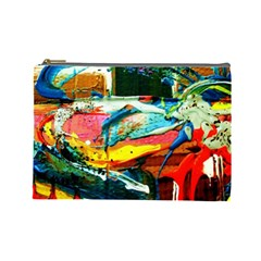 Aerobus Cosmetic Bag (large)  by bestdesignintheworld